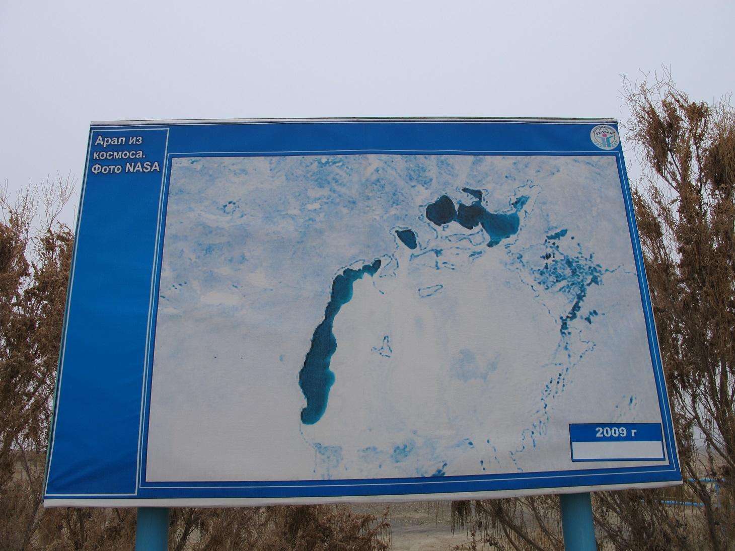 Mar de Aral 2009