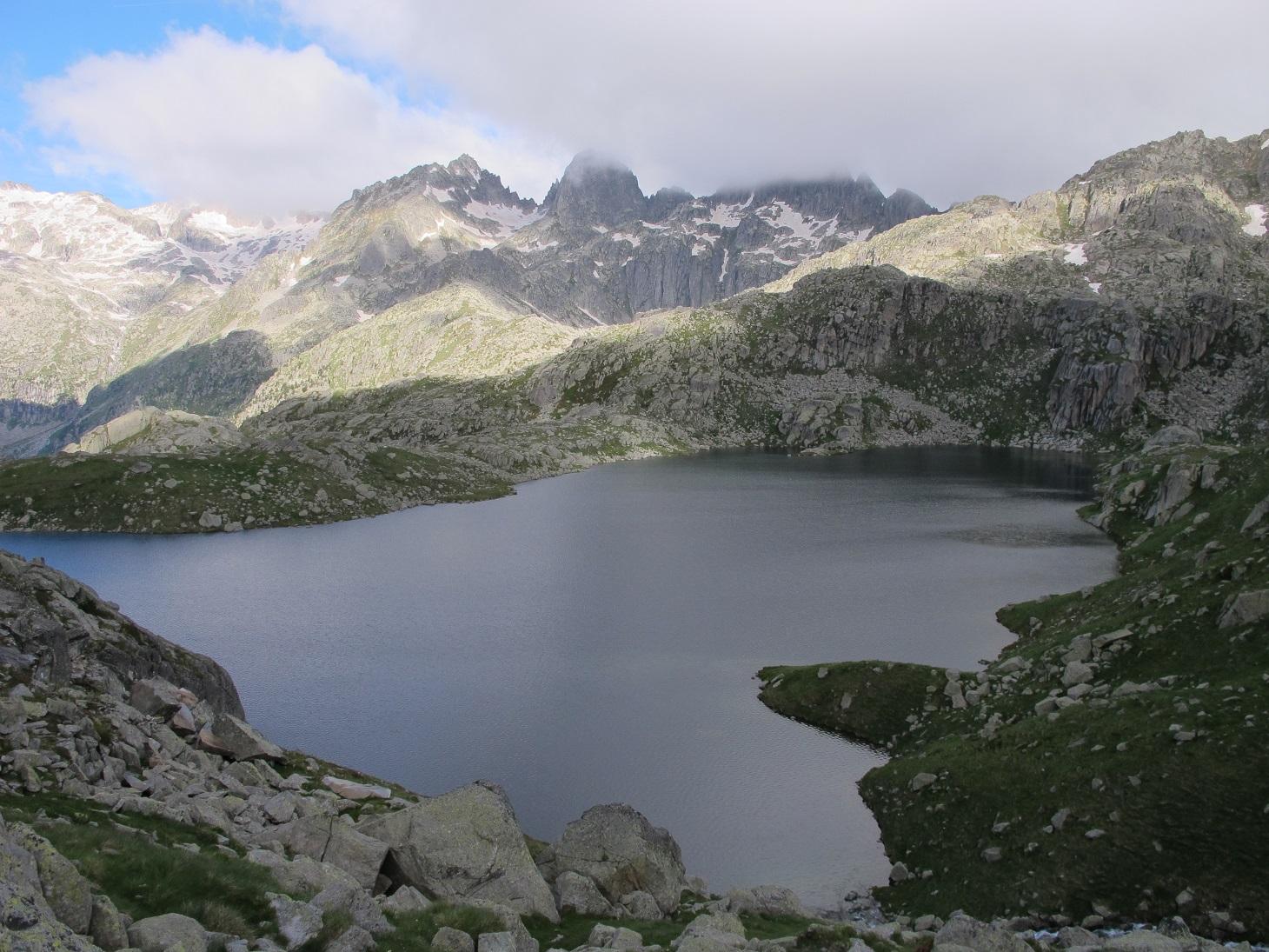 Zona de lagos de camino a Ventosa i Calvell